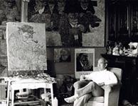 Artiste peintre Akira Tanaka